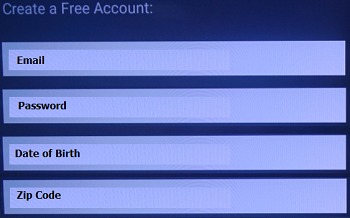 How To Sign In Or Create An Account On The Pandora App On An Android Tv Sony Usa