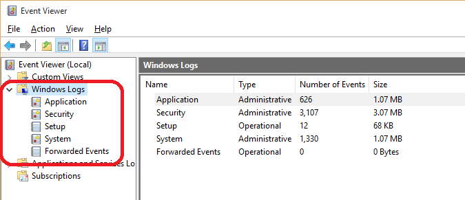 Windows Logs