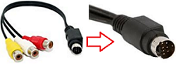 10 pin Mini DIN cable