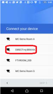 Confirm the access point you are  using