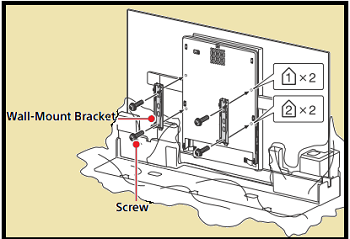Bracket without stand