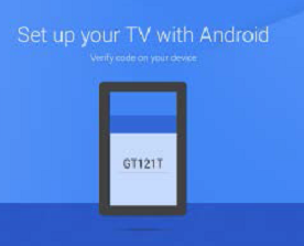 Verify the code on the TV