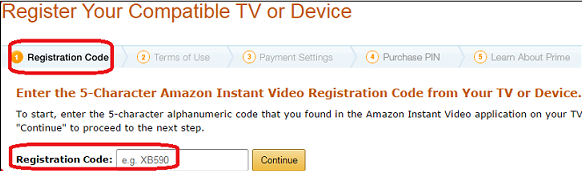 Amazon Link a Device