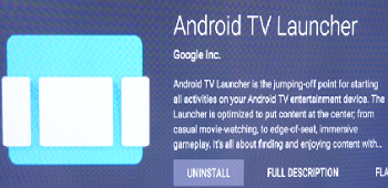 Android TV App Launcher