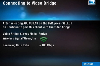 Connecting Video bridge