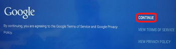 Google Terms and Service