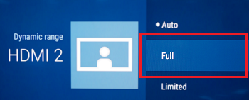 The Android TV Doesn't Display a 4K HDR Signal from a PS4 Pro Gaming