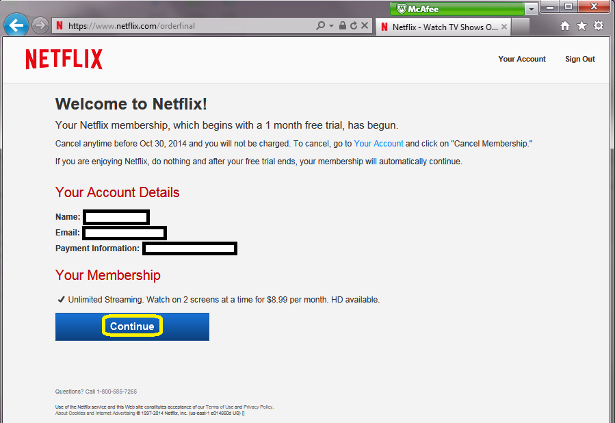 How to open a new account with Netflix using a computer    Sony USA