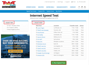 Test the speed of your Internet connection | Sony USA