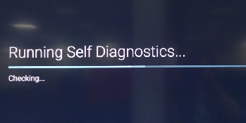 Running Self Diagnostics