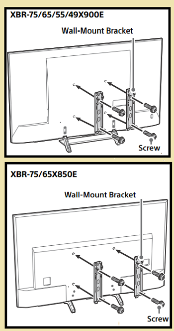 attach wall bracket