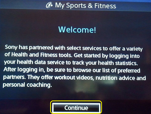 My Sports and Fitness Welcome!
