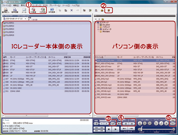 Digital Voice Editor Ver.3.2