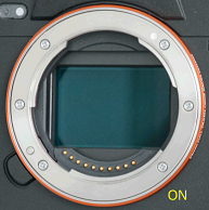 Image sensor not visible