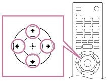 Remote arrow buttons