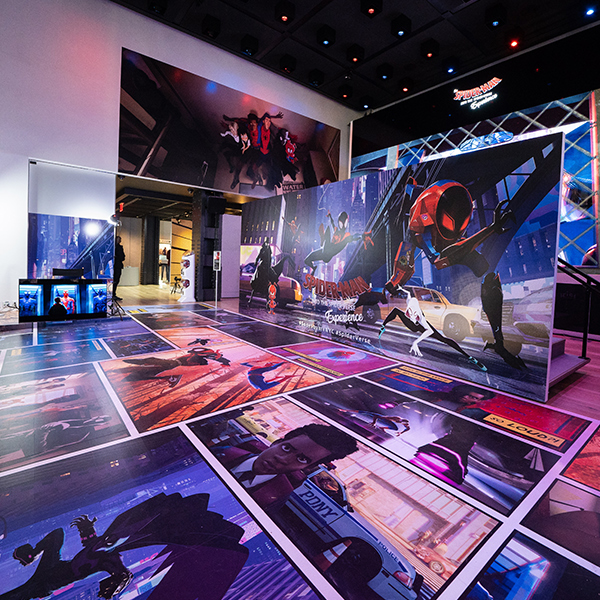 Spider-Man: Into the Spider-Verse Experience at Sony Square NYC