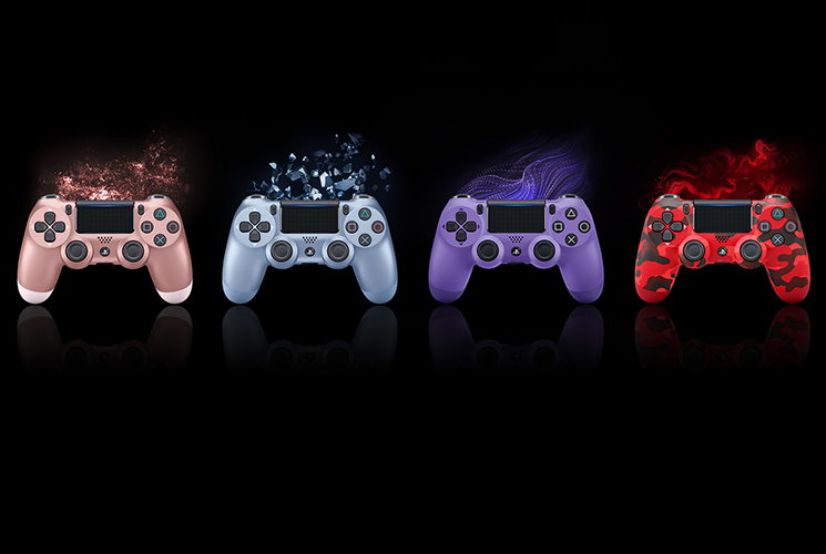 PS4 DualShock 4 Wireless Controllers