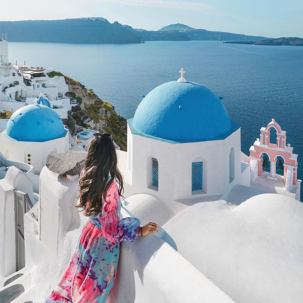 Greece photo by Michelle Chu