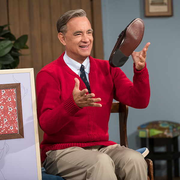 Go Behind-the-Scenes to Learn How Tom Hanks Transforms into the Beloved Mr. Rogers  Mobile