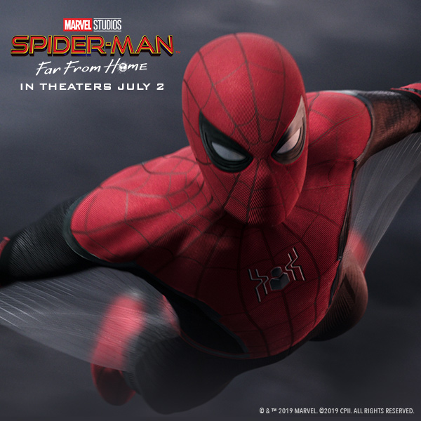 Sony Rewards Spider-Man: Far From Home ShowStopper