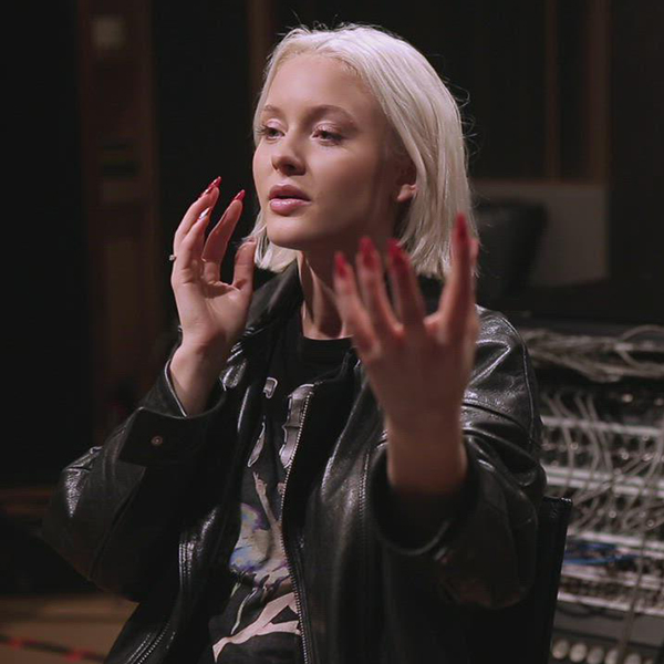 Watch Zara Larsson Experience a New Sound Space