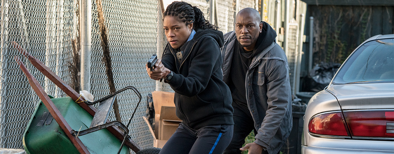 "Academy Award Nominee Naomie Harris Stars in the New Action-Packed Thriller ""Black and Blue"""