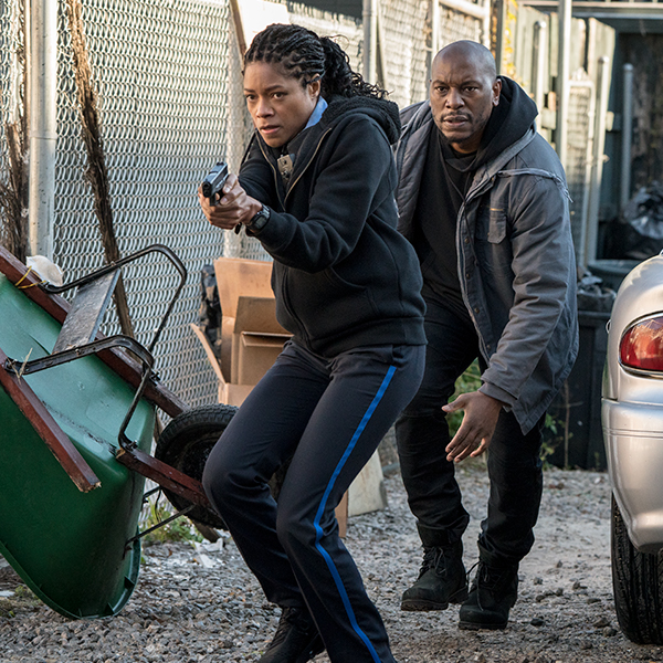 "Academy Award Nominee Naomie Harris Stars in the New Action-Packed Thriller ""Black and Blue"" Mobile"