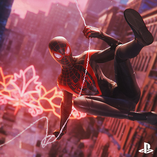 """Spider-Man: Miles Morales"" Is Swinging to PlayStation®5 This Holiday Season Mobile"