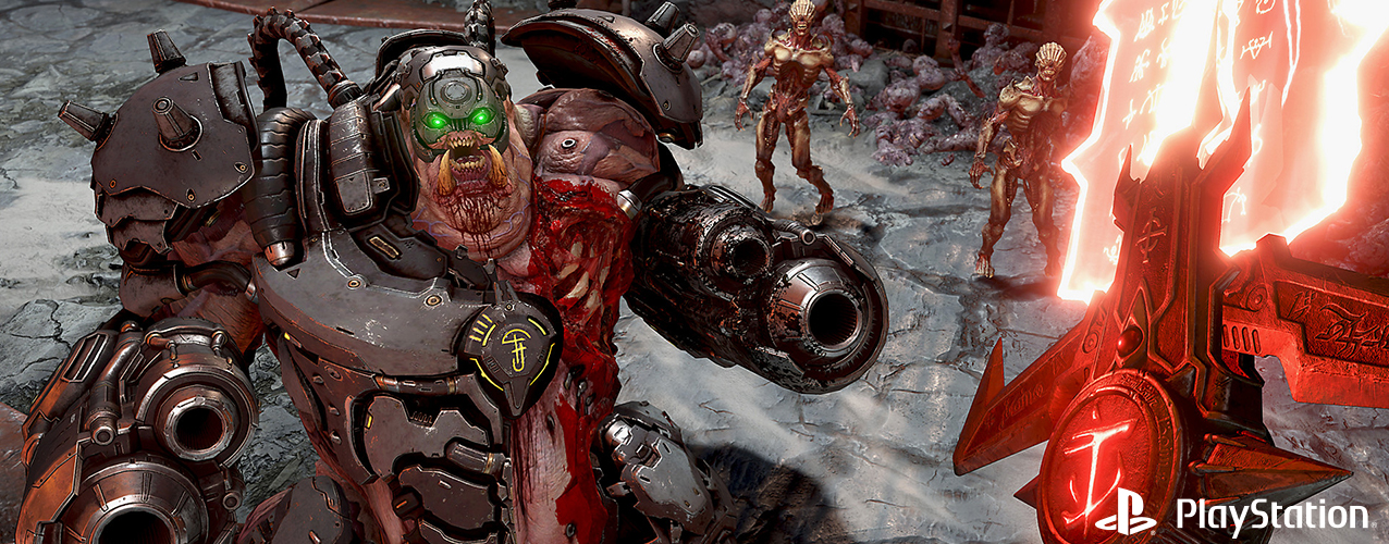 "Become a Slayer and Conquer Demons Across Multiple Dimensions in ""Doom Eternal"""