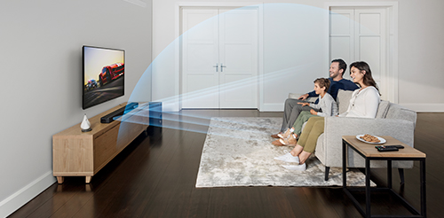 Enjoy Cinematic Surround Sound & Clear Dialogue