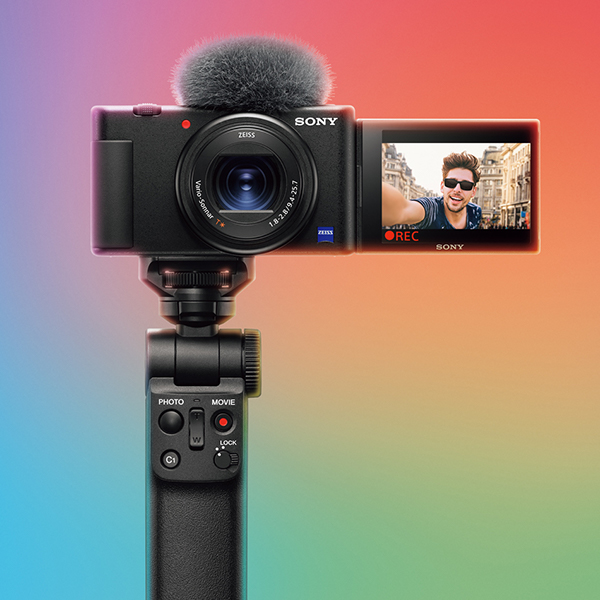 A Vlogging Camera Mobile