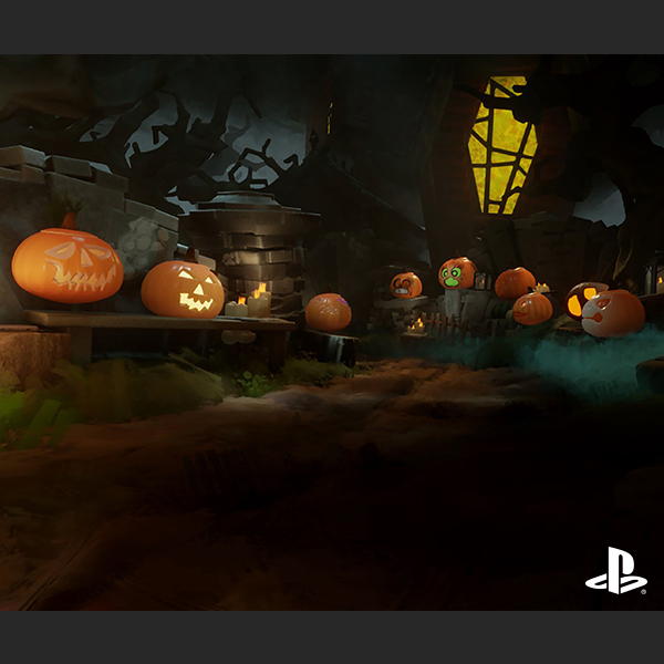 "Explore a Haunted House and Make Your Own Jack-o-Lantern in ""Dreams"" Mobile"