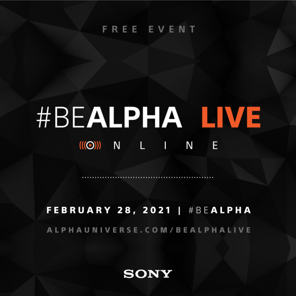 Free Event #BeAlpha Live Online February 28, 2021 Mobile