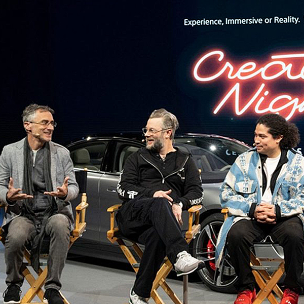 Creators' Night at CES 2020 Panel Discussion Mobile
