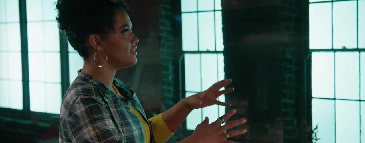 Join Kiersey Clemons and Glenn Gainor as They Tour Sony Innovation Studios