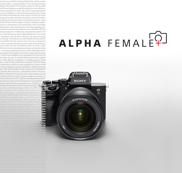 Alpha Female+ Program: Supporting diversity in the visual creator industry Mobile