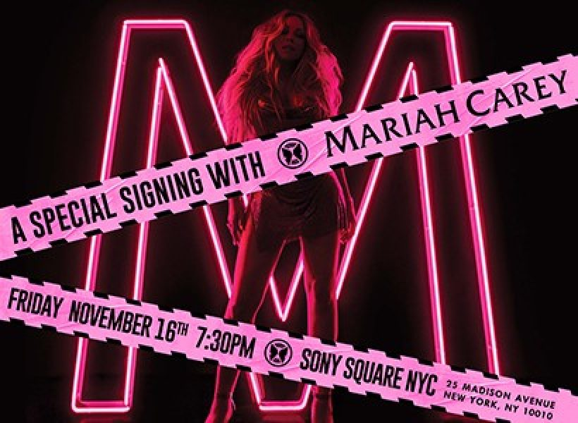Mariah Carey CD Signing