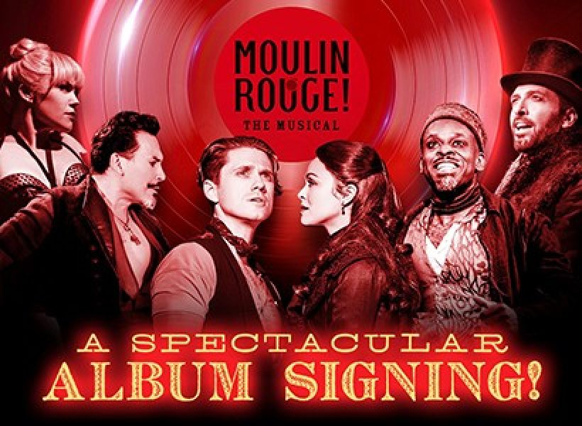 Moulin Rouge Broadway Cast Signing Event