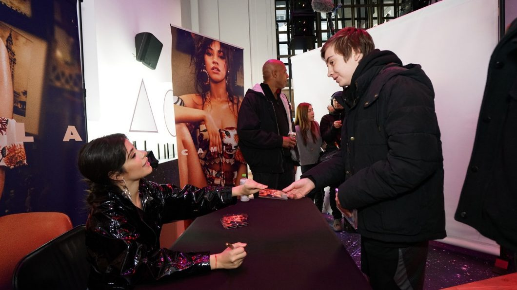 Camila Cabello Meet-and-Greet