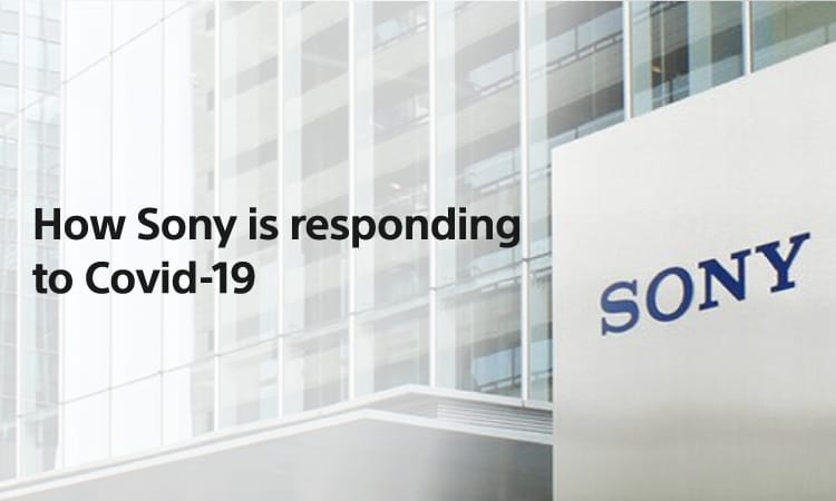 How Sony is responding to Covid-19