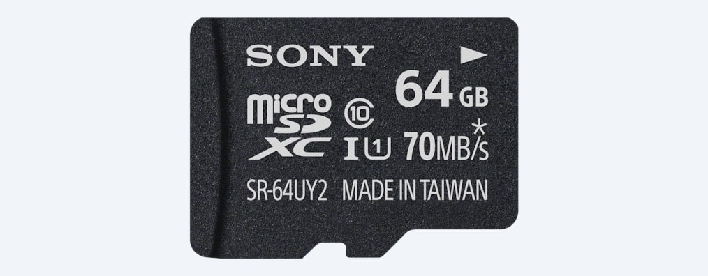Images of SR-UY2A Series microSD Memory Card