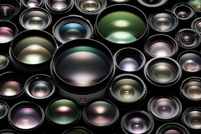 Image of Alpha E-mount lenses