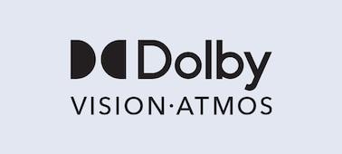 شعار Dolby Vision® وDolby Atmos®