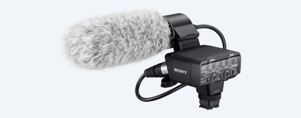 Sony XLR-K2M Adapter Kit and Microphone