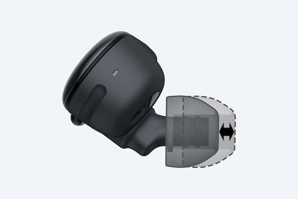 Moveable earpiece