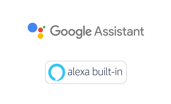 Google Assistant and Alexa logos