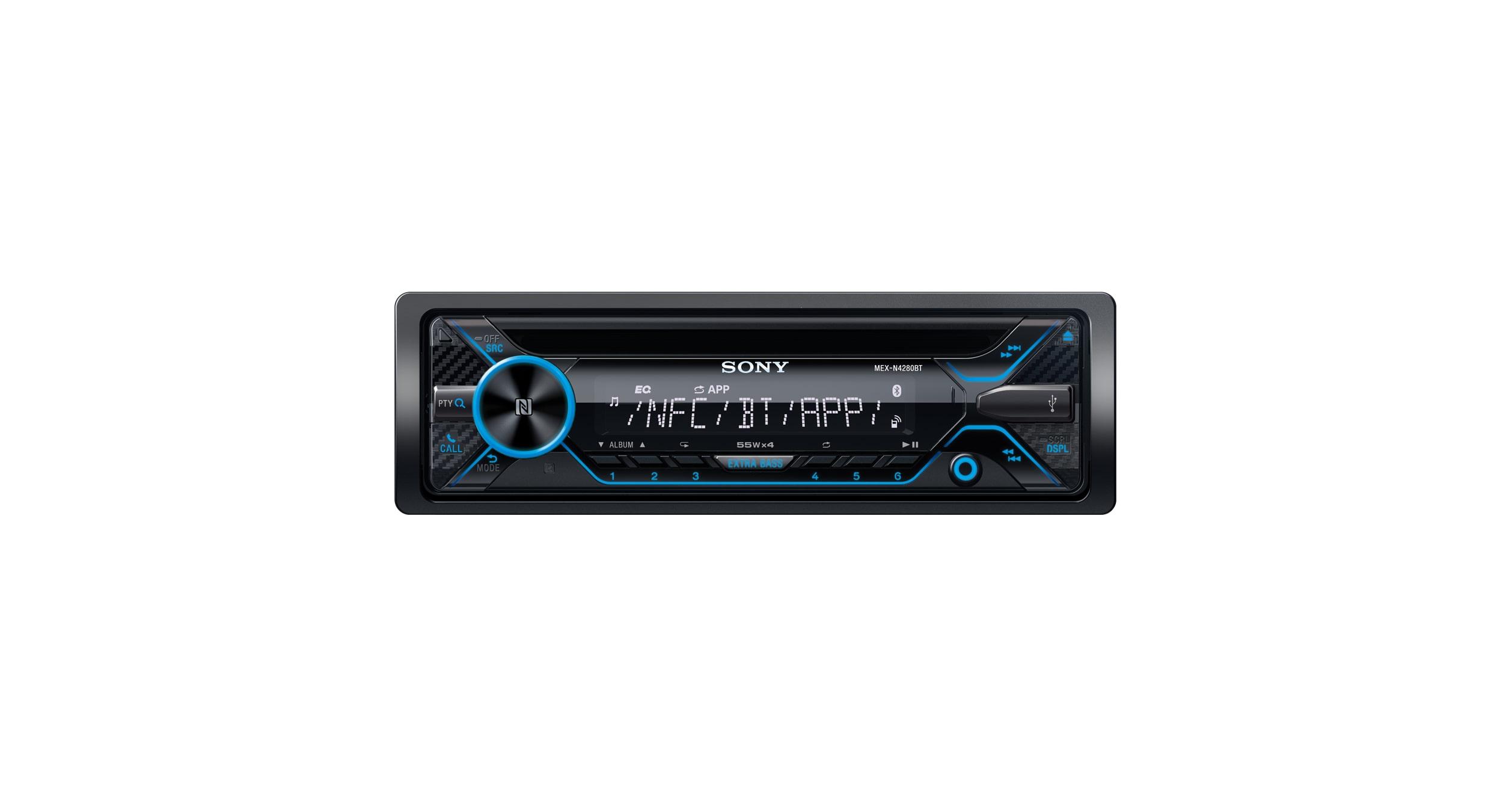 MEX-N4280BT | BLUETOOTH® CD Receiver | Sony US