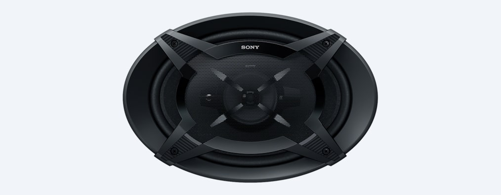 Images of 6 x 9 in (16 x 24 cm) 3-Way Speakers