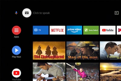 Personalize your TV with apps