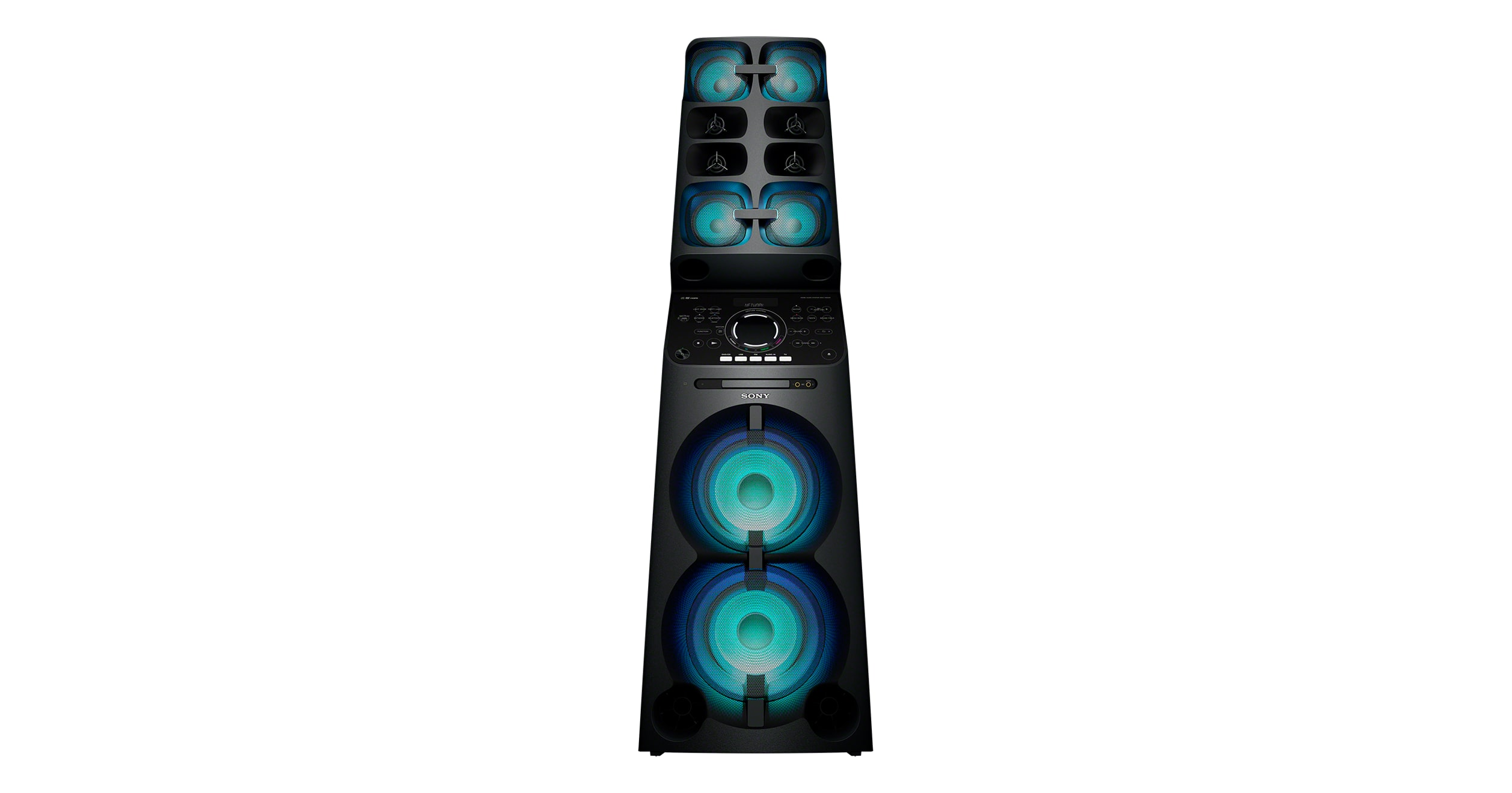 Party Speaker With Wi Fi Bluetooth And Karaoke Mhc V90w Sony Us Videoke Wiring